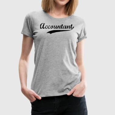Accountant Swoosh  - Women's Premium T-Shirt