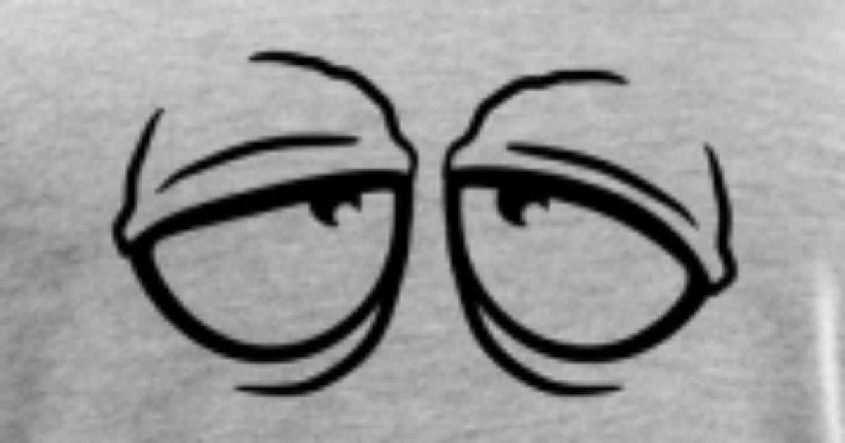 tired stoned sleepy eyes by style o mat shirts spreadshirt
