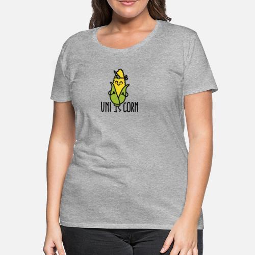 Wannabe Uni Corn Unicorn Frauen Premium T Shirt Spreadshirt
