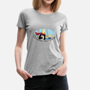 Paternité Paternité méchante - T-shirt Premium Femme