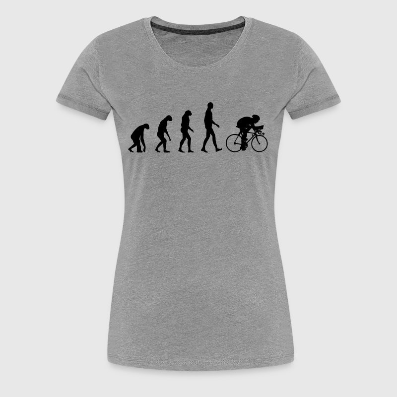 Evolution Bike - Frauen Premium T-Shirt