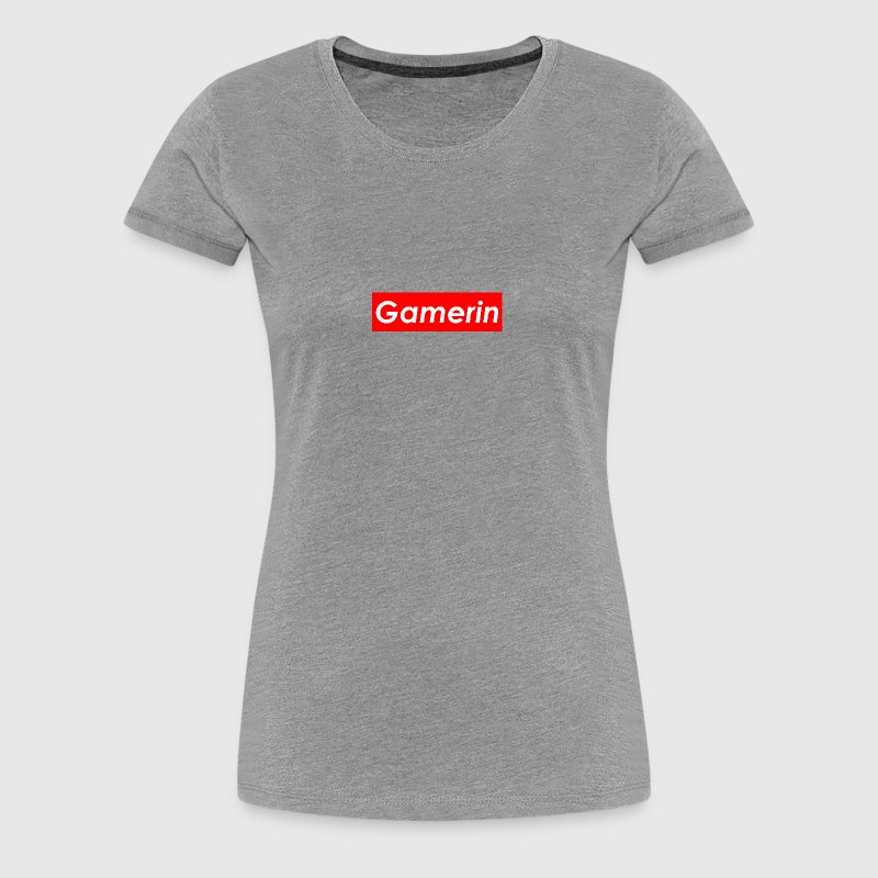 Gamerin Supreme - Frauen Premium T-Shirt