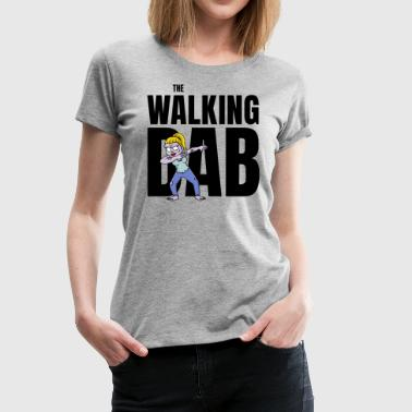 The Walking DAB Zombie Girl Dabbing Halloween sw - Frauen Premium T-Shirt