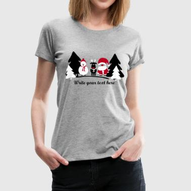 christmas crew 2 - Women's Premium T-Shirt