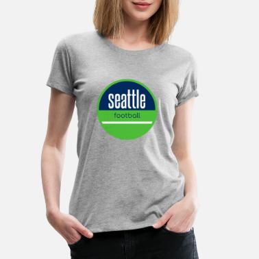 Seattle Seahawks Seattle football - Maglietta premium donna
