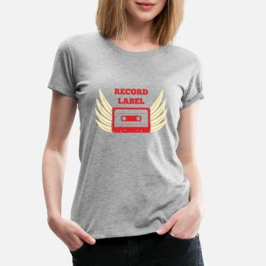 Record Label Record Label - Frauen Premium T-Shirt