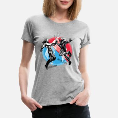 Aquaman Film Aquaman vs. Black Manta Kampf - Frauen Premium T-Shirt