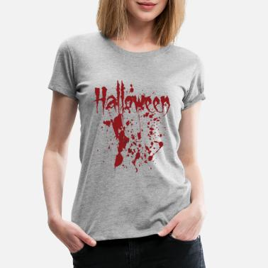 Halloween Blood Halloween - written in blood - Women's Premium T-Shirt