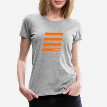 Bar Orange bars - Women's Premium T-Shirt