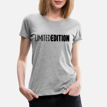 Limited Limited Edition Logo Design - Premium T-shirt dam