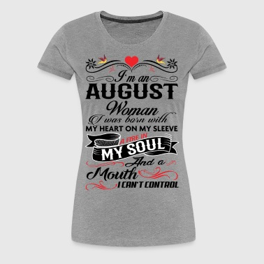 AUGUST WOMAN - Women's Premium T-Shirt
