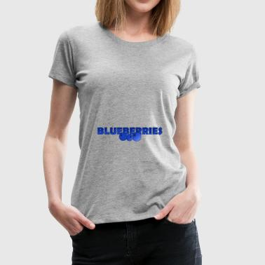 BlueBerries - Premium-T-shirt dam