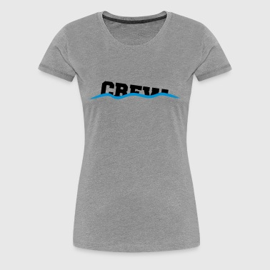 Crew drown decline sinking shafts - Women's Premium T-Shirt