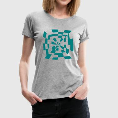 Surreal tunnel 1c chemin Abstract - T-shirt Premium Femme