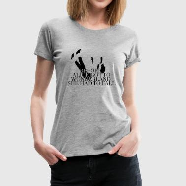 Wonderland - Women's Premium T-Shirt