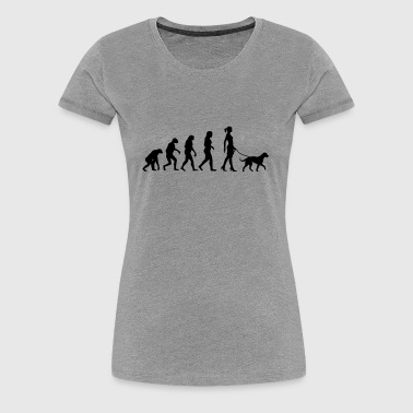 Evolution - Big Dog - Women's Premium T-Shirt