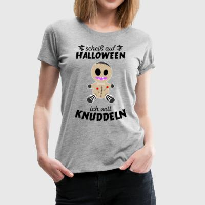 Scheiss auf Halloween - Voodoo Monster - Frauen Premium T-Shirt