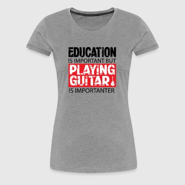 Education - Women's Premium T-Shirt
