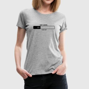 Ladies shirt with print BABY LOADING - Women's Premium T-Shirt