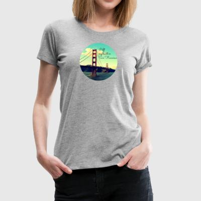 I left my heart in San Francisco - Women's Premium T-Shirt