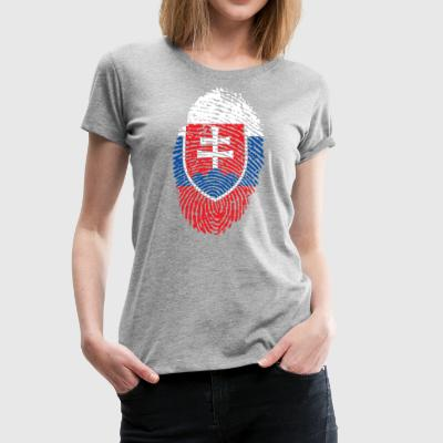 SLOVAKIA 4 EVER COLLECTION - Naisten premium t-paita