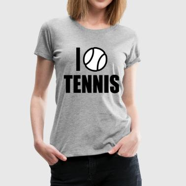 2541614 15380509 Tennis - Women's Premium T-Shirt