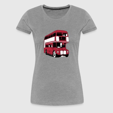 London-Bus (3 color) - Women's Premium T-Shirt