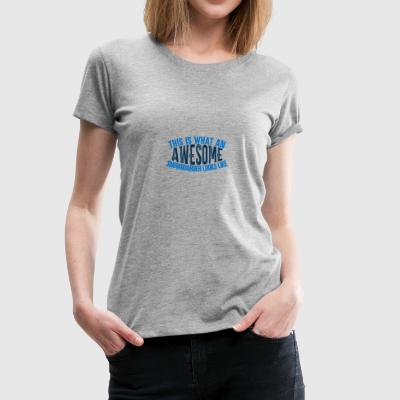 Boarder impressionnant - Boarder Puissance - T-shirt Premium Femme