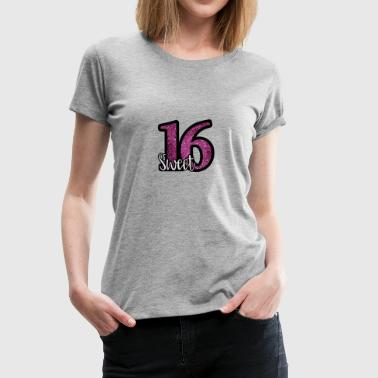 Sweet 16 - Women's Premium T-Shirt