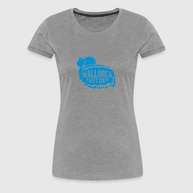 Mallorca Karte Land Map - Frauen Premium T-Shirt