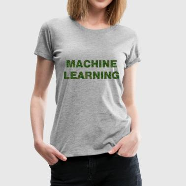 Machine Learning - T-shirt Premium Femme