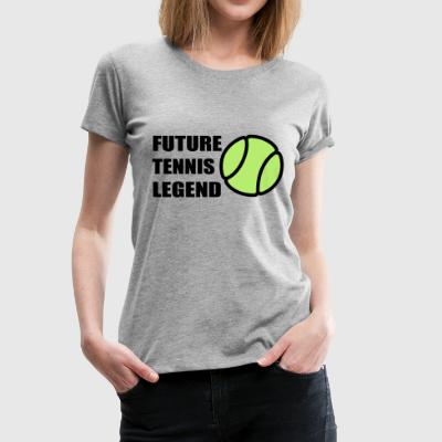 2541614 113714600 Tennis - Women's Premium T-Shirt