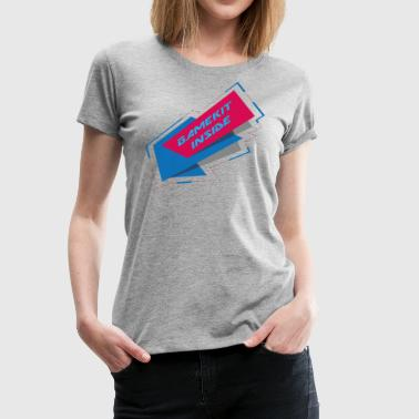 Inside GameKit - Women's Premium T-Shirt