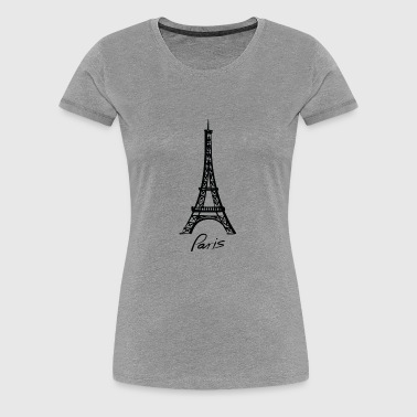Paris - Frauen Premium T-Shirt