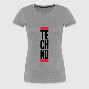 Techno Music - Frauen Premium T-Shirt