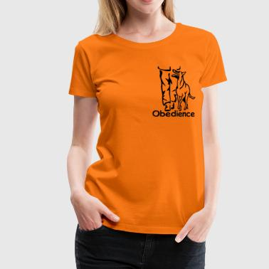 283 Obedience Malinois - Frauen Premium T-Shirt