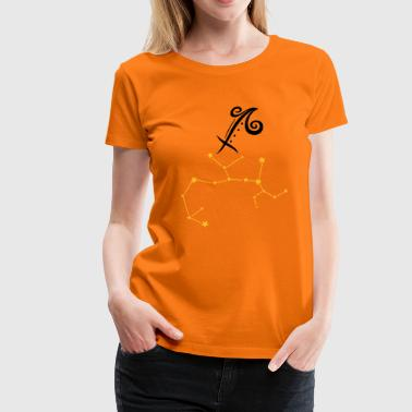 Astrological zodiac, sagittarius. - Women's Premium T-Shirt