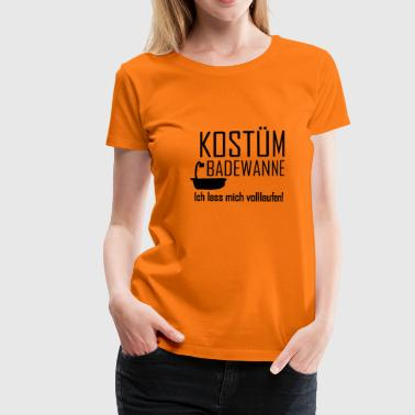 Faschings Kostüm - Frauen Premium T-Shirt