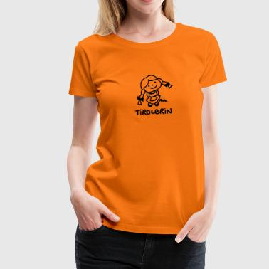 Tirolerin (ms) - Frauen Premium T-Shirt