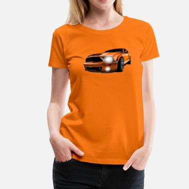 Sports Car sport car - Vrouwen Premium T-shirt