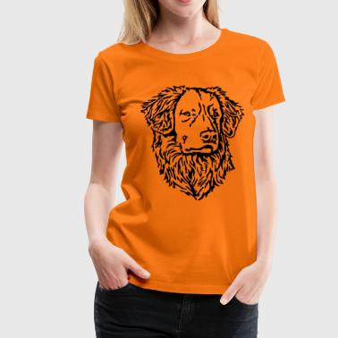 444 Nova Scotia Duck Tolling Retriever - Frauen Premium T-Shirt