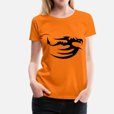 Tribal Dragon tribal dragon - Premium-T-shirt dam
