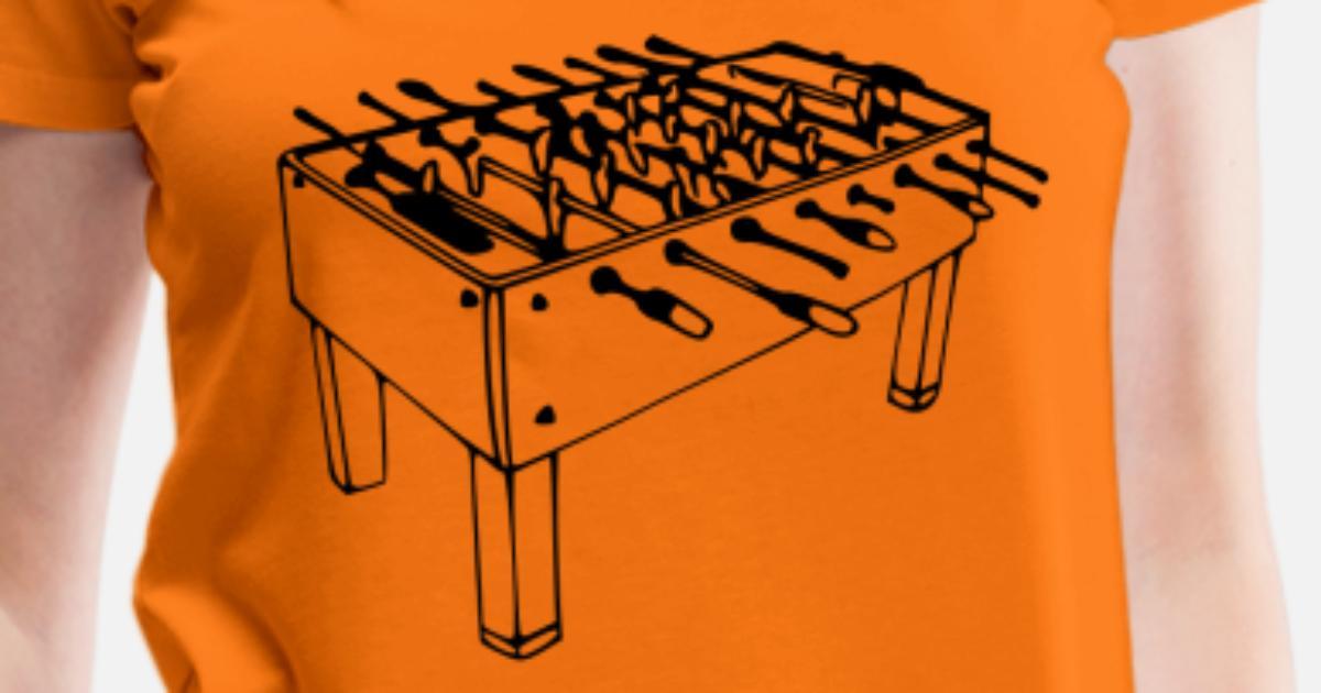 Tabletop football Women s Premium T-Shirt  97bbe2f9fb