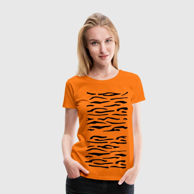 Tiger Stripes 1 - Women's Premium T-Shirt