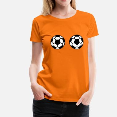Hooters Voetbal Hooters Vrouwenshirt - Vrouwen Premium T-shirt