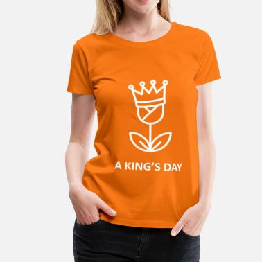 Kingsday A King's Day - Vrouwen Premium T-shirt