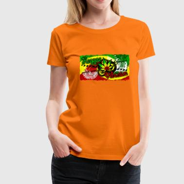 reggae vibration - Women's Premium T-Shirt