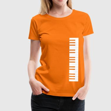 Piano keyboard - Women's Premium T-Shirt