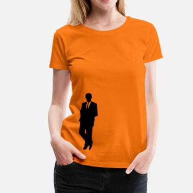 Business Business - Dame premium T-shirt
