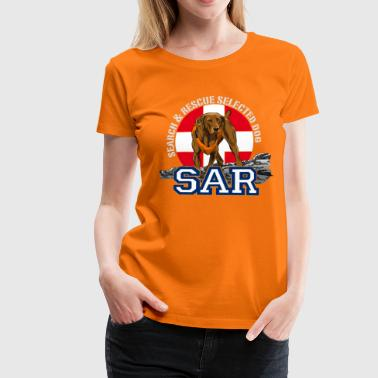 search and rescue dog 1 - Women's Premium T-Shirt